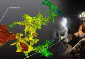 Laser Scanning the Rising Star Cave in the Cradle of Humankind, South Africa